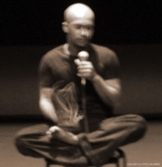 Akram Khan answers a question